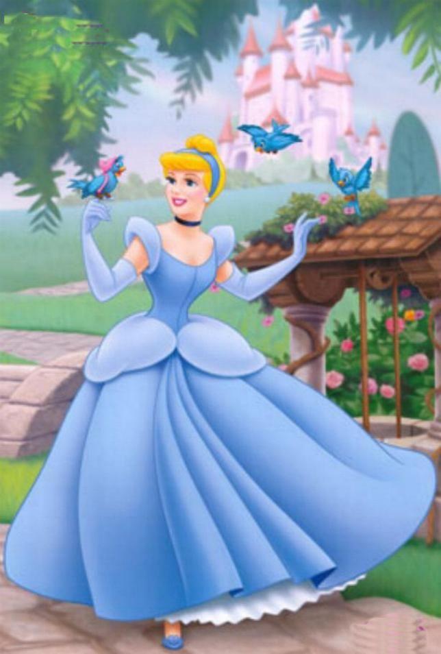 Cinderella and Blue Birds