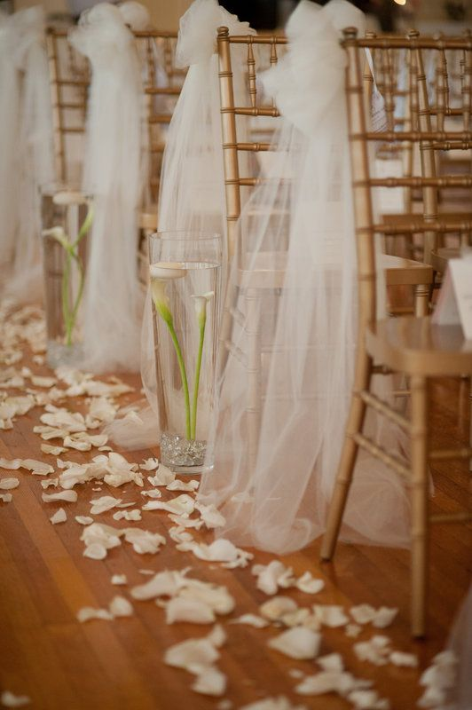 Easy Diy Wedding Ceremony Decorations Best Ideas About Tulle Pew Bows On