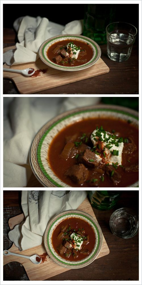 Warm up with a Ghoulish Goulash soup all the way from Hungary this Halloween!! This time four years ago we went to Budapest in beautiful Hungary for my birthday (yep, it was my birthday yesterday.... toot toot!!) My knowledge of the country and its traditions were slim to none so it was all very