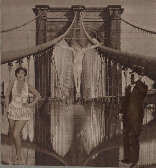 Paul Eluard et Benjamin Péret - Collage, 1933