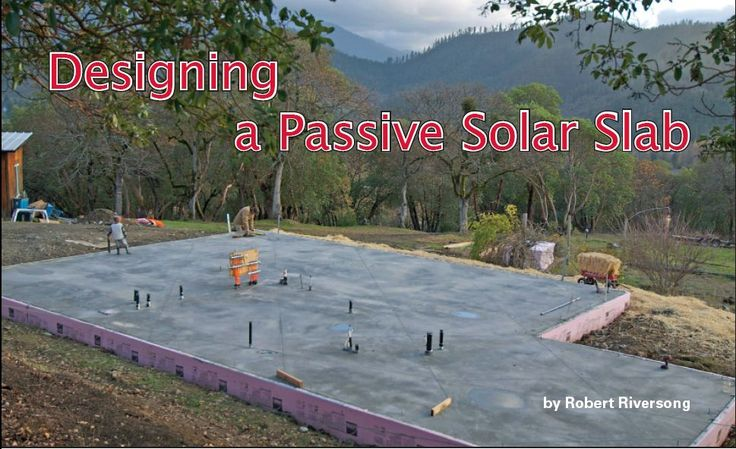 16. Passive Solar Radiant Slab | Riversong HouseWright