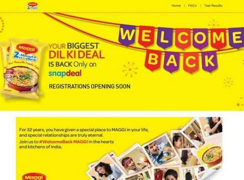 60K Maggi kits sold out