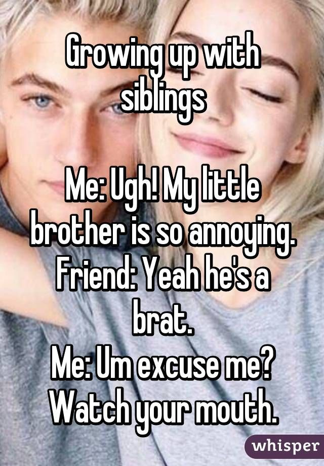 dating a friends younger brother
