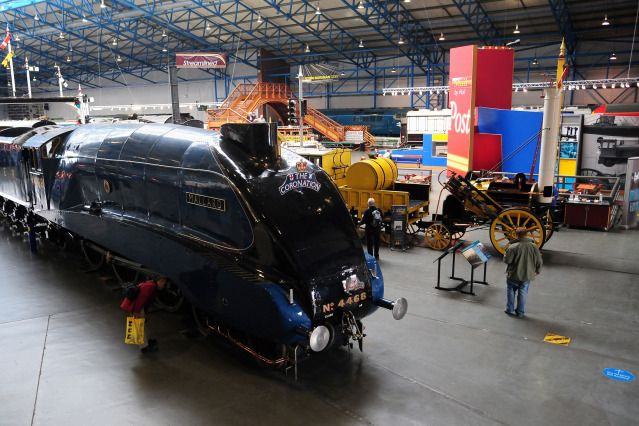 (Anna Gowthorpe/PA Archive) UK's Best Museums: National Railway Museum, York (The National Railway Museum tells the story of rail transport in Britain and its impact on society. It is the home of the national collection of historically significant railway vehicles, as well as a collection of other artefacts and both written and pictorial records.)