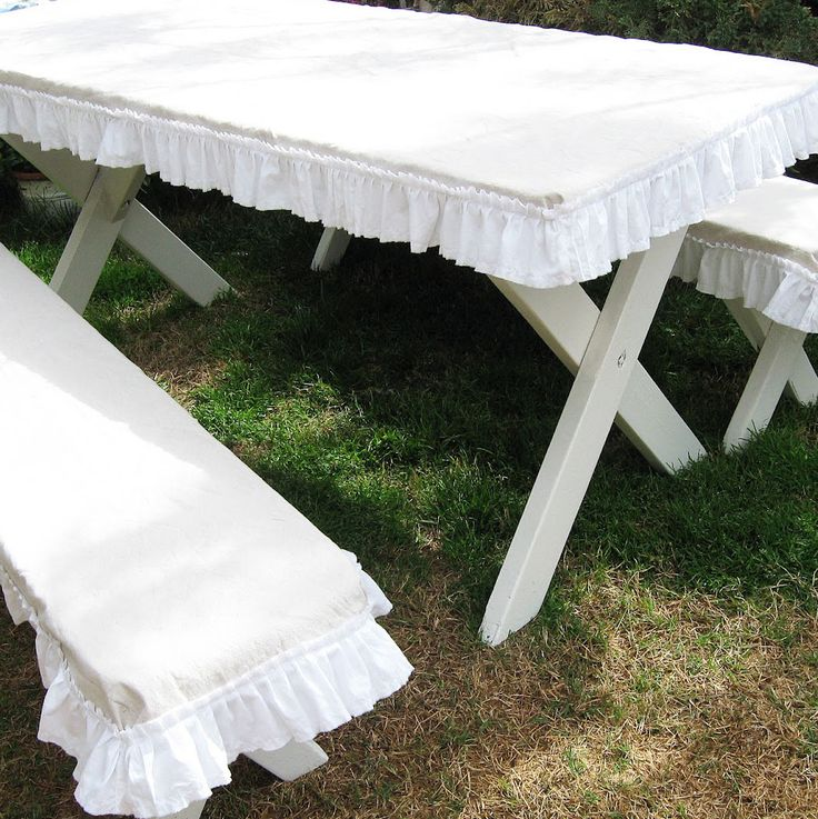 The 25+ best Picnic table covers ideas on Pinterest ...