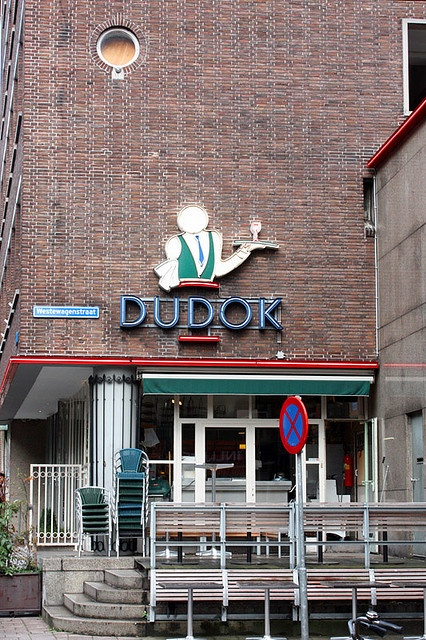 At Dudok, Meent, Rotterdam. Coffee and apple pie!