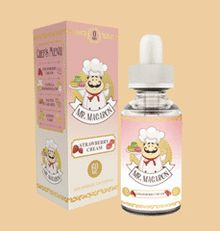 Strawberry Cream E Liquid by Mr. Macaron E Liquid Is a award-winning flavor, Strawberry Cream is a harmonious blend that strikes the perfect balance of freshly picked strawberries and a light whipped cream to top it all off. Strawberry Cream E Liquid is a PG/VG 70/30 and comes in Nicotine levels of 0mg, 3mg, and 6mg. Mr. Macaron Strawberry Cream E Liquid is made in the USA. #StrawberryCreamEliquid #MrMacaron #MrMacaronEliquid #StrawberryCreamEliquidMrMacaron #Vape #Vaping #Eliquid #Ejuice