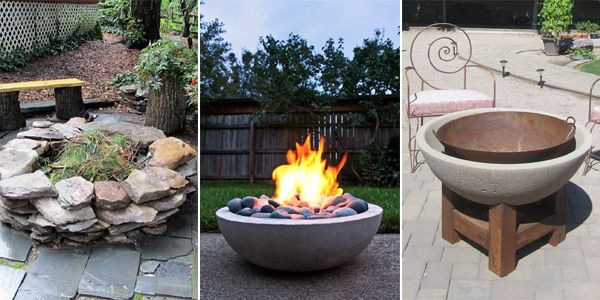 If you love spending time in your backyard with your family and friends, having a fire pit can be a lot of fun!