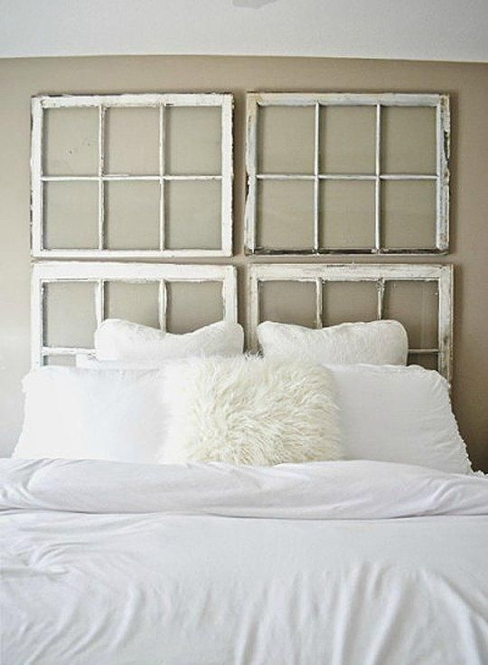 Make a statement in your bedroom with an alternative headboard instead of sticking with conventions. You can create a wall gallery of photos and artworks as your headboard, or use birch wood or drift wood to frame a headboard, or paint a faux headboard, etc.. Here are 8 alternative headboard ideas to inspire you to create something unique and personal in your bedroom.