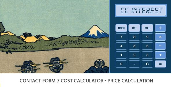 Contact Form Seven 7 Cost Calculator – Price Calculation (Add-on For CF7)