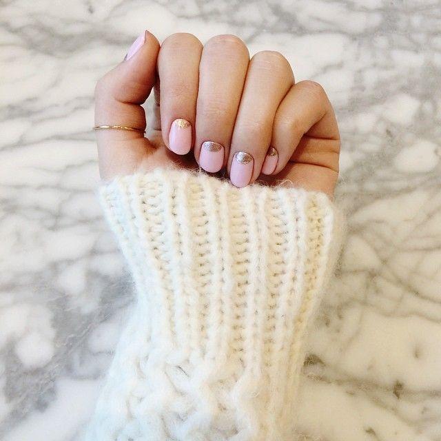 valentine's mani