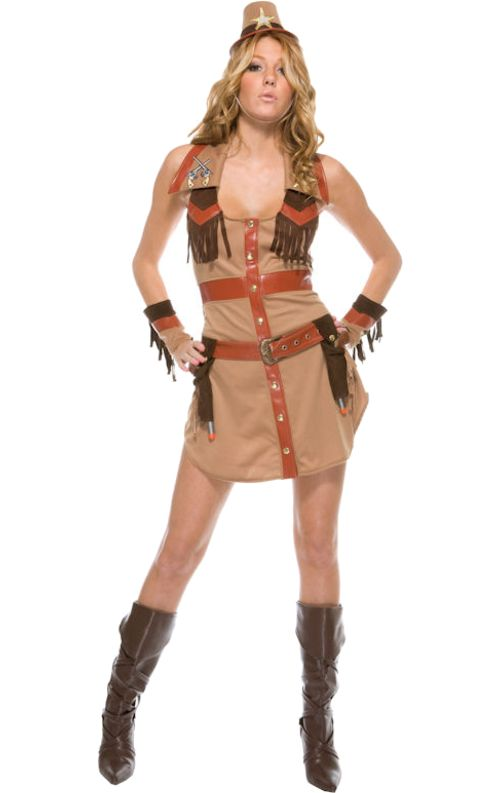 Wrangler Cowgirl Costume