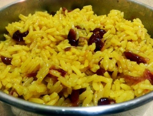 South African Yellow Rice - Geelrys