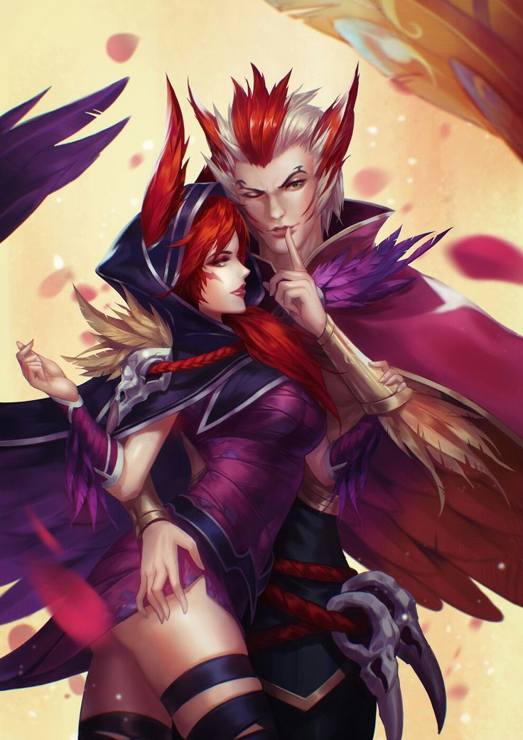 Xayah and Rakan ❣ - League of legends
