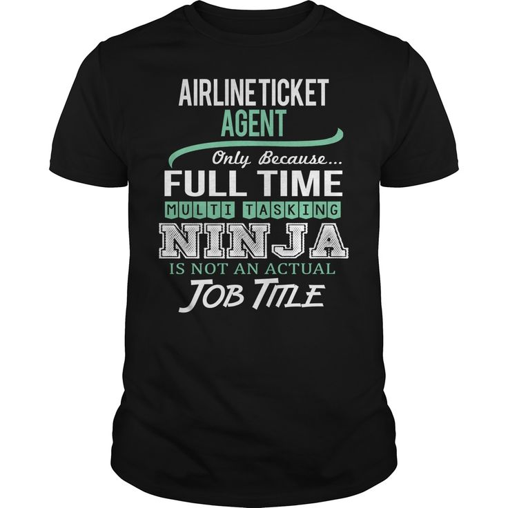 (New Tshirt Design) Awesome Tee For Airline Ticket Agent [Tshirt design] Hoodies, Tee Shirts