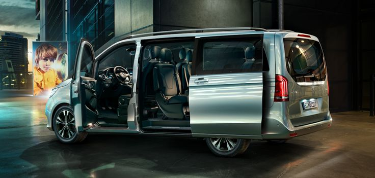 The new Mercedes-Benz V-Class