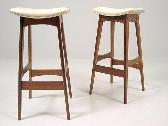Mid Century Modern Scandinavian barstool. Kitchen Counter StoolsKitchen ... - 7 Best Tables & Bar Stools Images On Pinterest