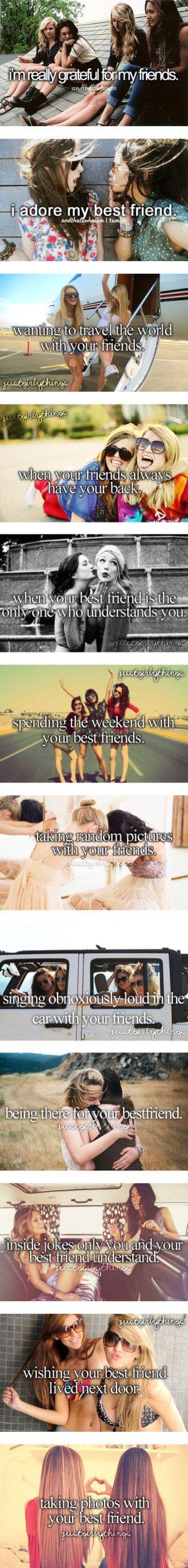 I love my friends! I mostly do all of these things.. lol <3 @Aylin Avila Juarez @Thania Hermosillo @Sesthleng Garcia   @Josselyne Jurado @Aubrianna Campbell
