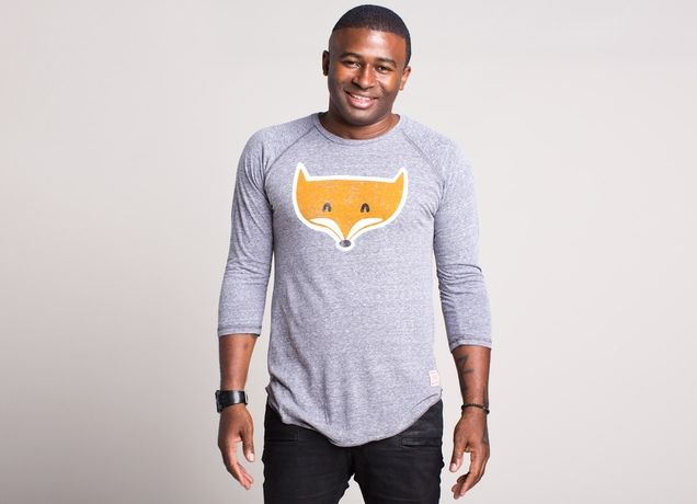 """""""A Fox with Socks"""" - Threadless.com - Best t-shirts in the world"""