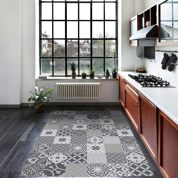 Kitchen Vinyl Floor Tiles Changing Countertops In Pvc Mat Flooring Moroccan Tile Linoleum Area Rug M