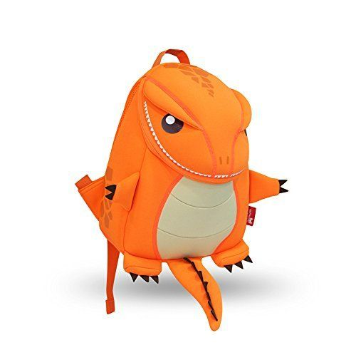 Coavas Gift For Kids Backpack Cute Toddler Backpack  Lifelike Dinosaur Orange1069137 inch -- Check this awesome product by going to the link at the image.