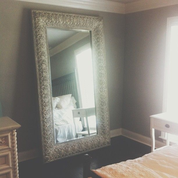 35 best images about bedroom ideas on pinterest marilyn for Tall bedroom mirror