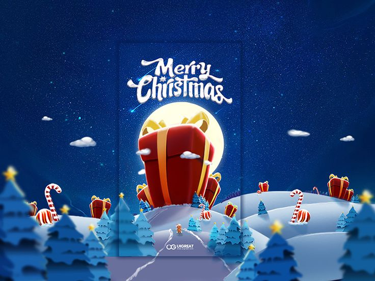 merry christmas   by gaojun #Design Popular #Dribbble #shots