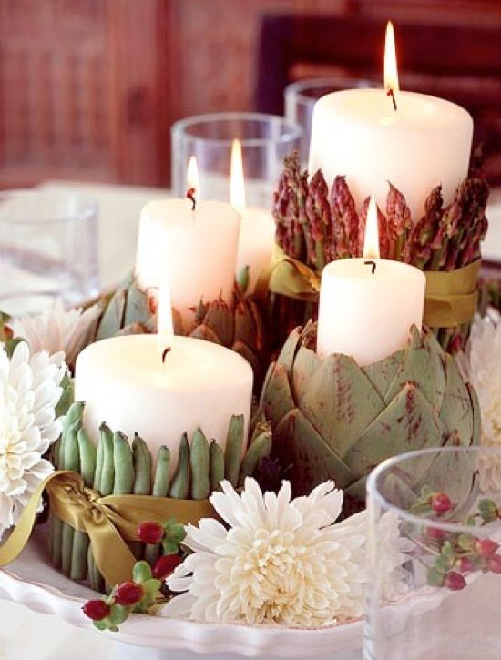 17 best images about thanksgiving on pinterest green for Diy thanksgiving floral centerpieces