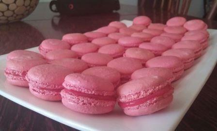 Клубнично-ванильные макаронс — рецепт с пошаговыми фотографиями на Foodclub.ru