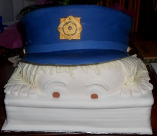 Garda wedding cake
