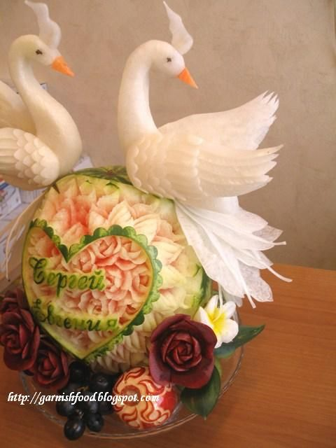 Best food carving ideas on pinterest fruit art