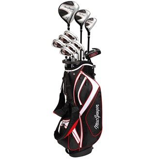 MacGregor Golf MacGregor Mens CG1900X Package Set The entry-level CG1900X offers unrivalled value with the choice of steel or graphite shafts in the irons and stand or cart bag the options are endless. The 11-piece package set features Ti-Matrix driv http://www.MightGet.com/january-2017-11/macgregor-golf-macgregor-mens-cg1900x-package-set.asp