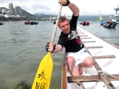 I watched this video like 100 times so I wouldnt look dumb..lol! Dragon Boat Paddling Technique - YouTube