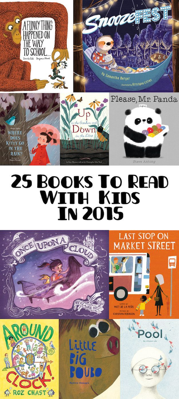 Picture books guaranteed to make both adults and children excited for story time.