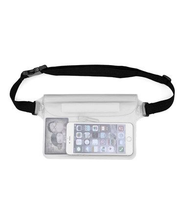 Loving this White Waterproof Fanny Pack on #zulily! #zulilyfinds