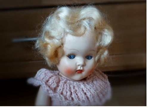 Pedigree 1950s HP Doll Little Miss Rosebud Plus Knitting Pattern Book | eBay