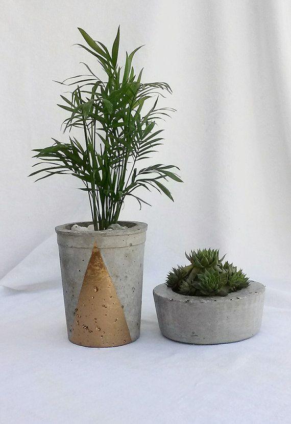 Hypertufa Planter set
