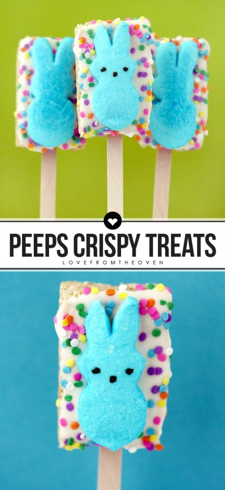 Peeps Rice Krispies Treats For Peeps Week | Activities, The o'jays and ...