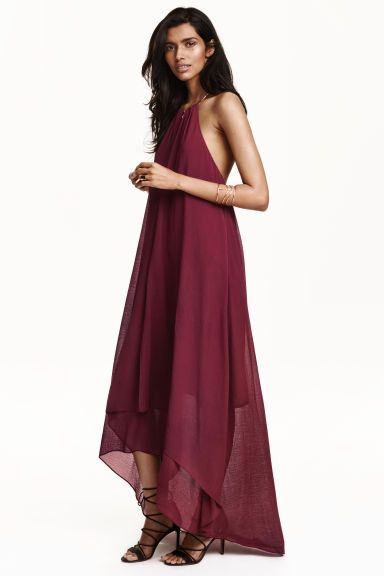Necklace trim dress   H&M (available in dark green)