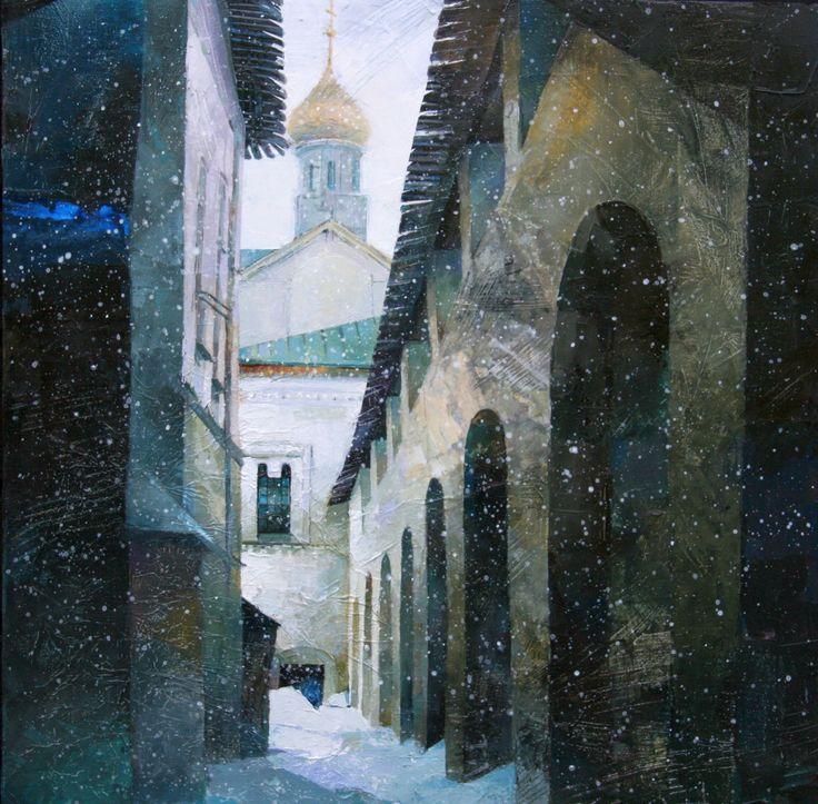 Galina Kim - Winter In Moscow.610x610