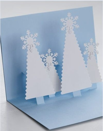Pop-up cards for Christmas
