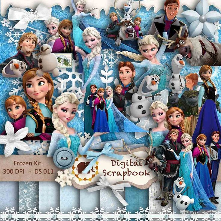 lots of frozen clipart