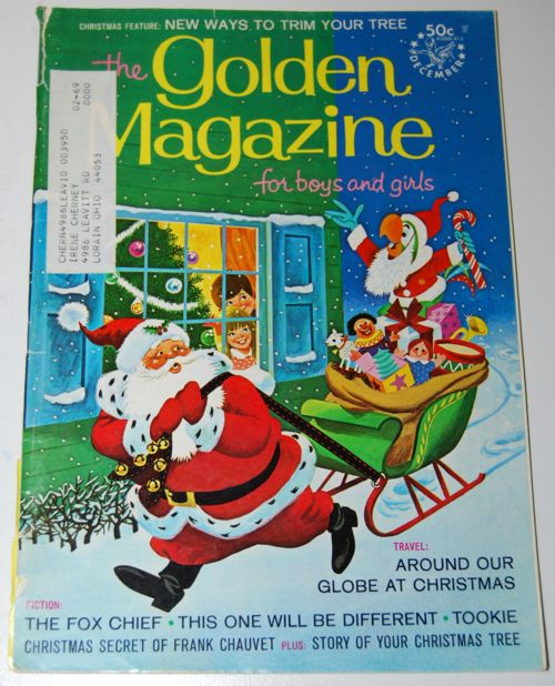 The Golden Magazine for Boys and Girls, December 1968 issue
