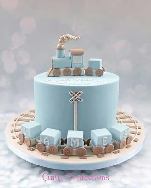 :) Choo choo train cake | Más en https://lomejordelaweb.es/