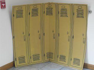 Vacation Bible School (VBS) Ideas For Sports Theme small locker closeup - Source: tammycookblogsbooks