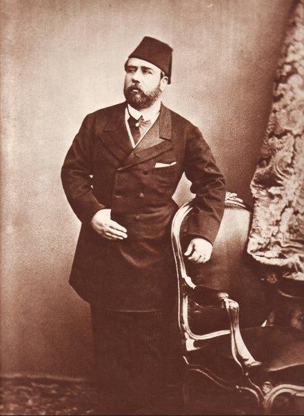 HH Khedive Ismail The Magnificent of Egyp.flickr