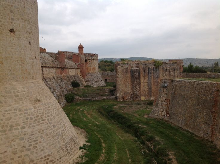 170. The Dry Moat of the Fortress of Salses in Salses-le-Château