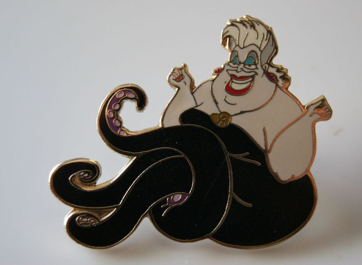Ursula the Sea Witch  Disney Trading Pin