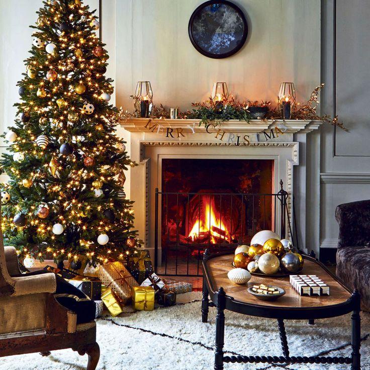 English Christmas style