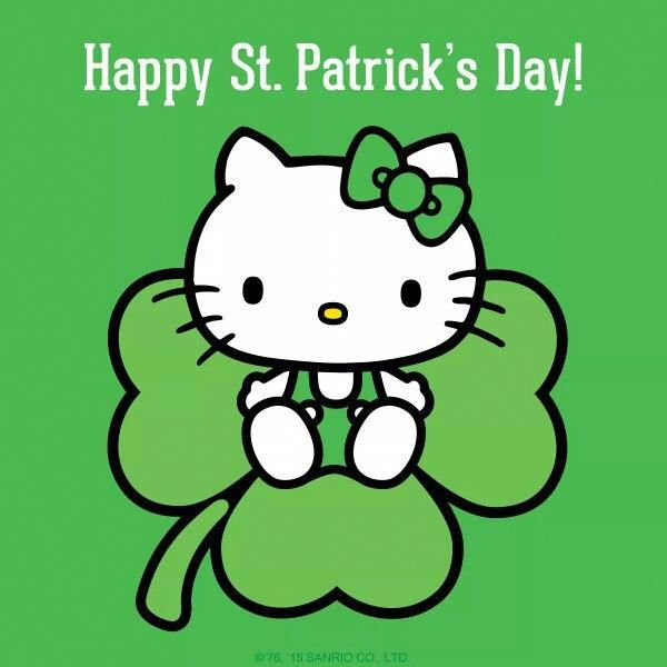 Hello Kitty St Patrick S Day Stpatricksdayshirts Hello Kitty Hello Kitty Wallpaper Hello Kitty Pictures